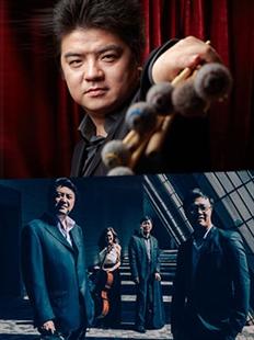 """大剧院2016五月音乐节:""""击·弦""""李飚与香港弦乐四重奏音乐会的图片"""