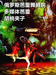 俄罗斯芭蕾舞剧院多媒体芭蕾舞《胡桃夹子》的图片